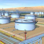 What are oil storage terminals