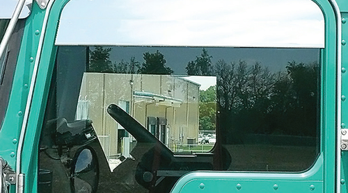 Glass windows and their use in public transport vehicles